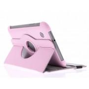Roze 360° draaibare tablethoes voor de Samsung Galaxy Tab 2 7.0