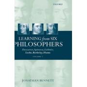 Learning from Six Philosophers: v.2 by Jonathan Bennett