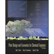 Plant Design Chemical Engineers by Max S. Peters