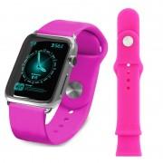 Pulseira de Silicone Tuff-Luv para Apple Watch - 38mm - Rosa
