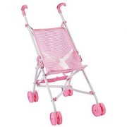 KidKraft Darling Doll Stroller (Accommodates American Girl Dolls) Pink