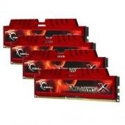 G.Skill Ripjaws-X Memory Mémoire RAM PC3-8500 32 Go (4 x 8) 1600 MHz 240 broches CL10 DDR3
