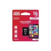 Cartão De Memória Micro SD De 16Gb GOODRAM Classe 10