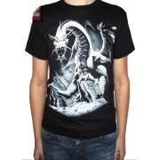Koszulka dwustronnym nadrukiem - DRAGON