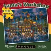 Santas Workshop Dowdle Puzzle 100 Pieces 16 X 20 Inch
