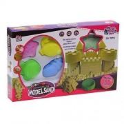 Lixin Space Kit's Sand-moon Sand (1.1lb) & Sand Molding Set(seaside Sidekicks) Sand Molds Toy for Kids(sand & Mold Color Random)