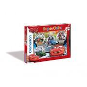 Clementoni 27857 - Puzzle Cars, 104 pezzi