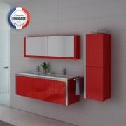 Distribain Meubles salle de bain DIS025-1500CO Rouge Coquelicot