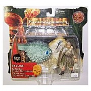 Pirates of the Caribbean - Secrets of The Deep - Deluxe Koleniko Flying Dutchman Pirate with Expanding Blowfish