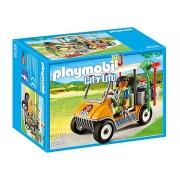 6636 Playmobil Masina Ingrijitorului De La Zoo