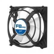 ARCTIC F8 PRO - Ventola per case - 80 mm ad alta potenza con brevettata sistema anti-vibrazione