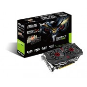 Asus GeForce GTX 960 Scheda Video da 2 GB GDDR5, PCI-E, Dual Link DVI-I, HDMI, 3 x Display Port STRIX OC Edition Direct CU II