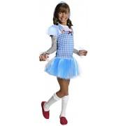 Rubies Wizard of Oz Dorothy Hoodie Dress Costume, Child Large