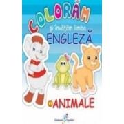 Coloram Si Invatam Limba Engleza Vol.1 Animale