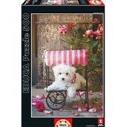Puzzles Educa - Puzzle Be My Valentine, Lisa Jane, 500 piezas (16272)