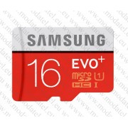Micro SDHC card + Adapter (16GB class 10) Samsung Evo Plus