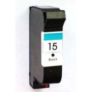Cartucce inkjet HP 15 (C6615D) rigenerate per stampanti Deskjet 3816 3820 810c 825c 840 845c Officejet V40 5110 PSC 500 750 950