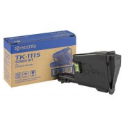 Cartus toner Black Kyocera TK-1115pentru FS-1041, 1220MFP, 1320MFP, 1.6K