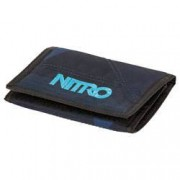 nitro Geldbörse Wallet Fragments Blue