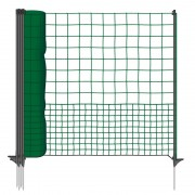 VOSS.farming poultry netting 50 m, extra high 125cm, easy access system, non-electric