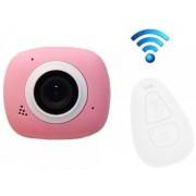Camera Video Sport iUni Dare G3i, Filmare Full HD, 12MP, Waterproof, Wi-Fi (Roz)
