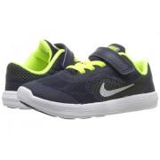 Nike Revolution 3 (InfantToddler) ObsidianHastaVoltMetallic Platinum