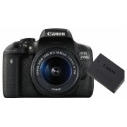 Canon EOS 750D kit (18-55mm IS STM + LP-E17 acumulator)
