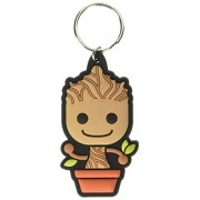 Guardians of the Galaxy Rubber Portachiavi Baby Groot 6 cm Pyramid International