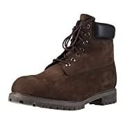 """Timberland 6"""" Premium, Men's Boots, Brown (Dark Chocolate Nubuck), 11 UK"""