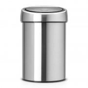 Brabantia Touch Bin nyomásra nyíló szemetes 3 literes chrom - 363986