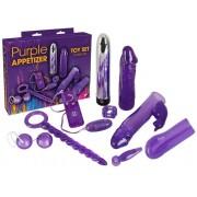 Purple Appetizer - vibrátoros készlet (9 részes)