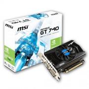 MSI Nvidia GeForce GT 740 2 GB Graphics Card