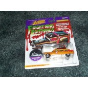 Ghostbusters ECTO-1A Frightning Lightnings Johnny Lightning 1 of 12,000 limited edition orange/gold in color