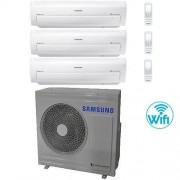 Samsung Climatizzatore Condizionatore Samsung AR7000M Trial Split Inverter 7000 + 9000 + 12000 BTU AJ068FCJ3EH/EU Classe A+/A