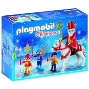 Playmobil - 5593 - Jeu De Construction - Saint Nicolas Avec Enfants