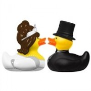 "'Bud - Deluxe Mini cucks ""Bride & Groom Patos"
