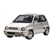 AUTOart 1/18 Honda CITY TURBO II SILVER with MOTOCOMPO IN YELLOW [JAPAN] (japan import)