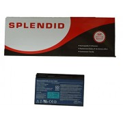 SPLENDID BRANDED - HIGH GRADE - 6 CELL LAPTOP BATTERY FOR ACER TravelMate 5510 BATCL50L6 BATBL50L6 ( BLACK )
