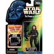 Star Wars The Power of the Force - Death Star Trooper with Blaster Rifle - Freeze Frame Action Slide by Toy Rocket (English Manual)