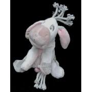Doudou Âne Bourriquet Disney Winnie The Pooh Nicotoy Gris Rose Peluche Enfant Bébé Mixte 20cm