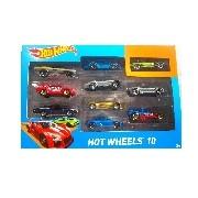Hot Wheels kisautók 10 darabos készlet 2