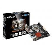 ASRock H170M-ITX/DL - Motherboard - Mini-ITX - LGA1151 Socket - H170 - USB 3.0