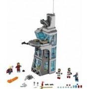 Set Constructie Lego Super Heroes Marvel Atacul Impotriva Turnului Razbunatorilo