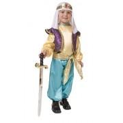 Dress Up America 551-M - Costume da Sultano Arabo per Bambini, M, 8-10 Anni, Multicolore