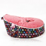 Mini Beanz Newborn Bean Bag - Bubble Pink