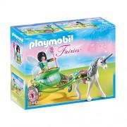 Trasura unicorn si zana fluture, PLAYMOBIL Fairies