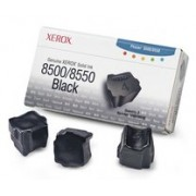 108R00668 Brand New Genuine Retail Original OEM ( FREE GROUND SHIPPING ! ) XEROX - COLOR PRINTER SUPPLIES 3 STICKS BLACK SOLID INK FOR