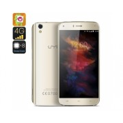 UMi Smartphone Diamond - 4G, Android 6.0, Octa Core 3 Go de RAM, OTG, écran HD 5 pouces, Verre Arc 2.5D (Or)