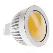 Лампа луничка с 5W разтлан диод 220V MR16 - топло бяло