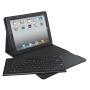 Carcasa LEITZ Complete Tech Grip, cu capac si tastatura pentru iPad Gen 3/4 /iPad 2, QWERTY - negru